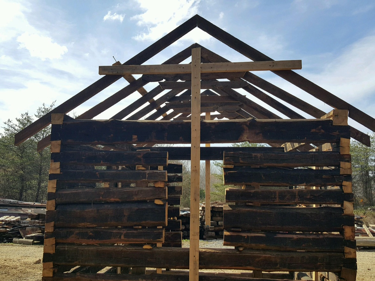 Smokehouse – Old Log Cabins. Full resolution  snapshot, nominally Width 1280 Height 960 pixels, snapshot with #396192.