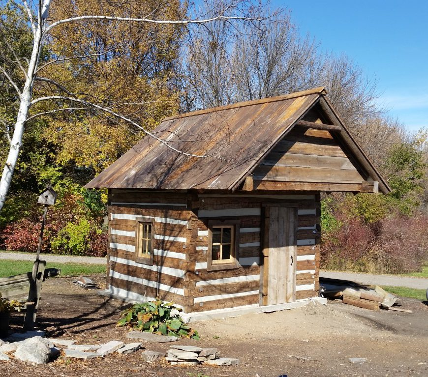 These are used as hunting cabins, garden sheds, etc.