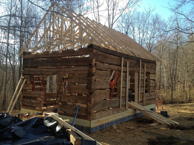 Saltville Old Log Cabins