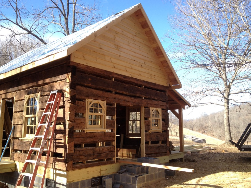 Saltville Old Log Cabins
