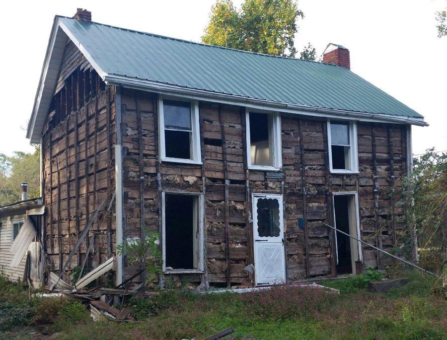Old Log Cabins