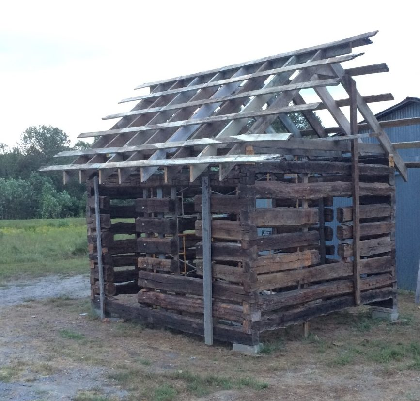 Camp Cabin Old Log Cabins
